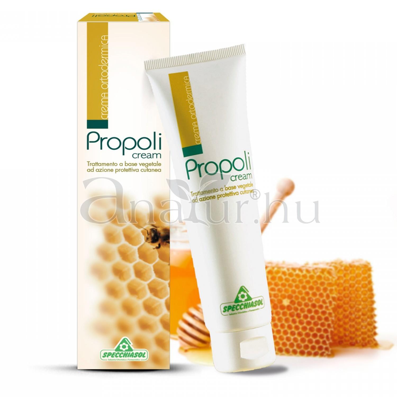 Ortodermikus Propolisz krém 100 ml. E.P.I.D.® szabadalommal kivont tejes értékű propoliszból.