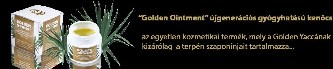 Golden Ointment kenőcs ekcémára, pikkelysömörre, lábszárfekélyre