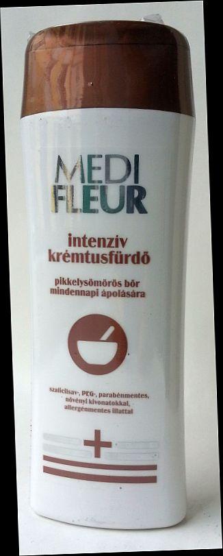 Medifleur intenzív krémtusfürdő pikkelysömörre