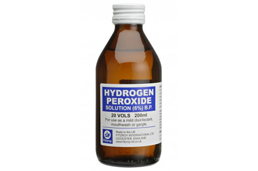 hidrogén-peroxid-kezelés pikkelysömörhöz