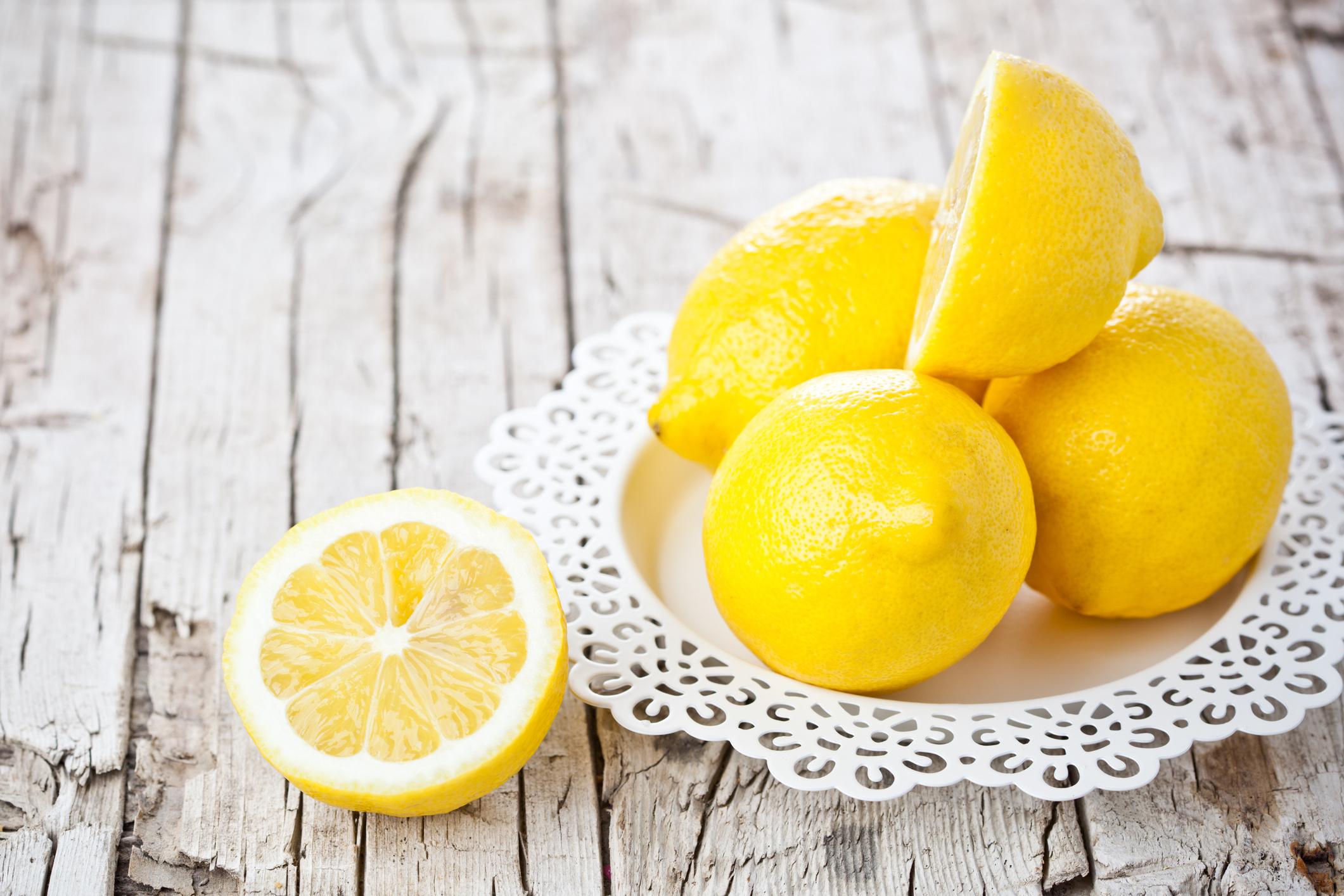 citrom az arcon lévő vörös foltok ellen